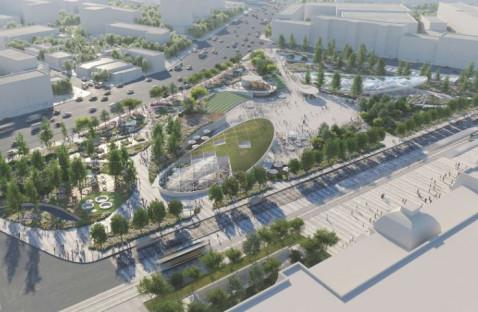 Павелецкую площадь реконструируют до конца 2021 года